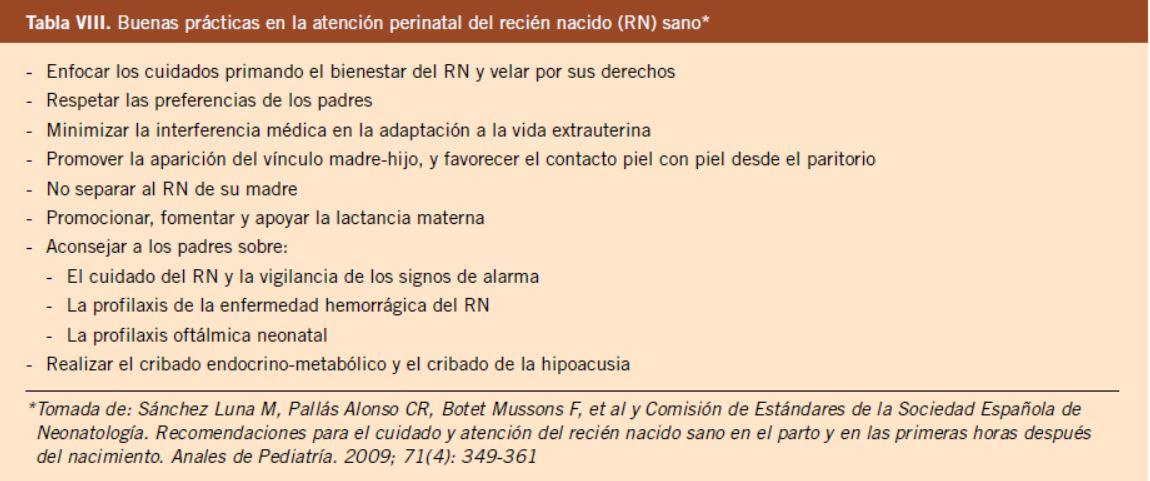 e15a28bcf Consulta prenatal y seguimiento del recién nacido normal