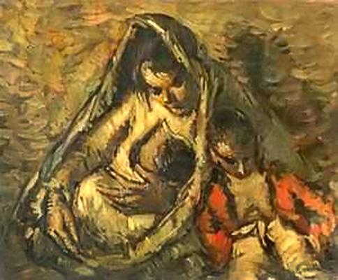 del pintura Representación españolaIsidro Nonellel la en niño nwmy0PvN8O