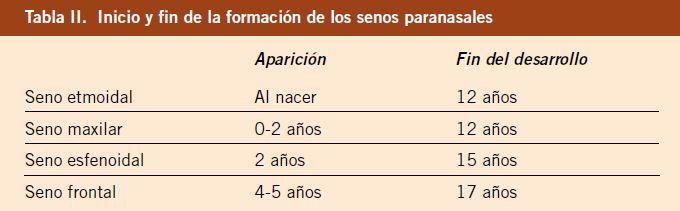 Aspectos anatómicos diferenciales de la ORL pediátrica