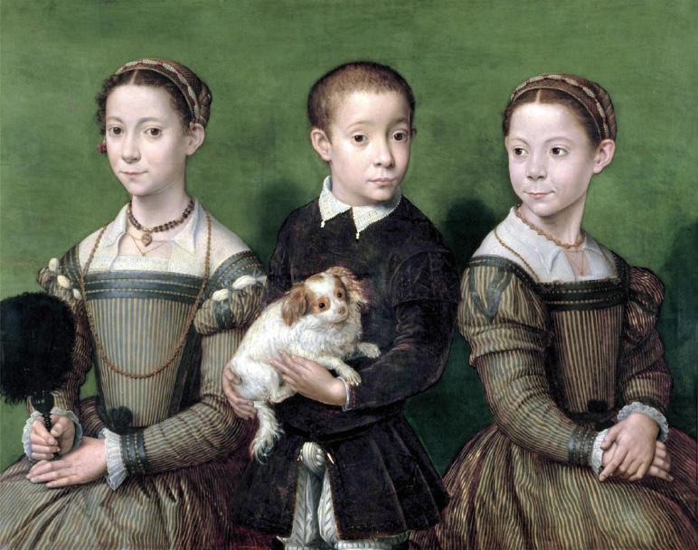 Representación del niño en la pintura españolaSofonisba Anguissola, una  gran precursora
